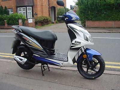SYM Jet 4 50 Sports Moped Scooter 2010 50cc Automatic. One Mature Owner.