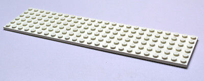 LEGO Plate Base Plate 6 x 24 Train in White - Part no 3026 from 377 1548 6395