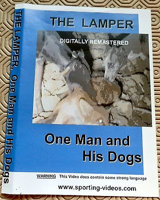 ONE MAN and HIS DOGS - DVD - THE LAMPER-rabbit,hare,fox,lurchers,coursing