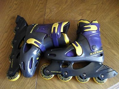 Men's ROLLERBLADE Blade Runner 2500 Pro  Size 7 Roller Blades (Made In Taiwan)
