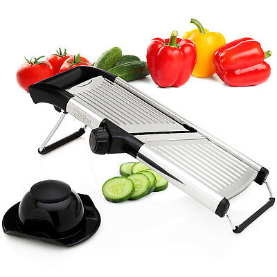 Sterline Adjustable Mandoline Vegetable Potato Food Slicer Stainless Steel