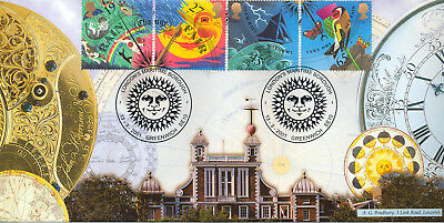 2001 Weather (Stamps) - Bradbury Greenwich Cover