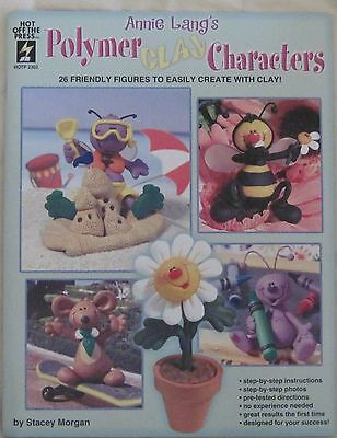 Annie Langs Polymer Clay Characters 26 Figures To Create Craft Book p4