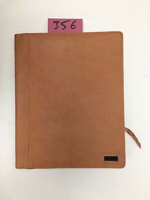 A4 Brown  Leather folder  (style 356) also holds A4 diary