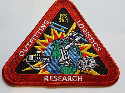 U.s. Raumfahrt Nasa Space Aufnäher Patch Iss 5A.1 Mission Fasching Karneval