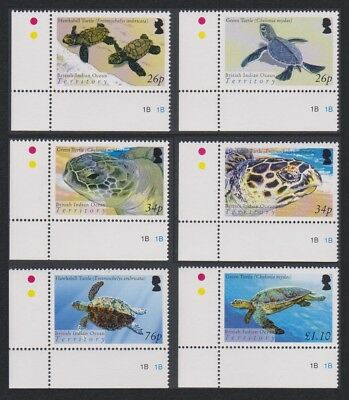 BIOT Turtles 6v Bottom Left Corners SG#312-317 SC#290-295