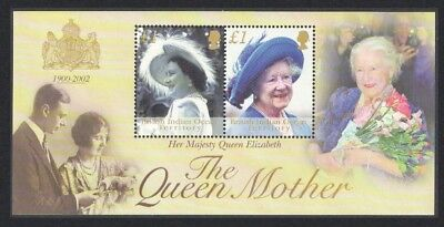 BIOT Queen Mother Commemoration MS SG#MS269