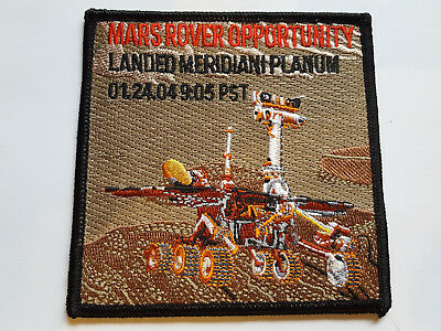 U.s. Raumfahrt Nasa Space Aufnäher Patch Mars Rover Opportunity Fasching