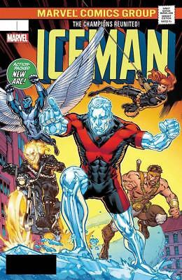 Iceman #6 Marvel Legacy Lenticular Variant Homage To Champions #1 Legacy Cbx9B