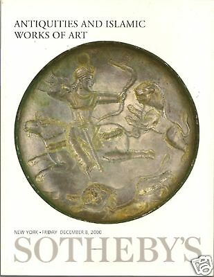 SOTHEBY'S Greek Egypt Roman Islamic Antiquities Glass Auction Catalog 2000