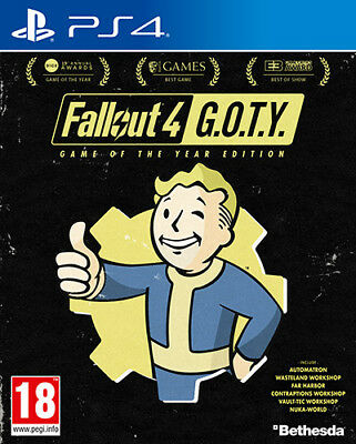 Fallout 4 GOTY Game Of The Year PS4 Playstation 4 BETHESDA