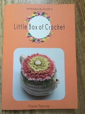 Little Box Of Crochet Floral Teacosy Pattern Booklet Only - New