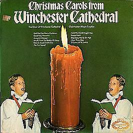 Christmas Carols From Winchester Cathedral - Hallmark Records - 1972 #750263