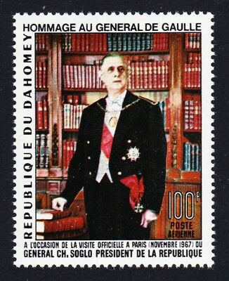 Dahomey Homage to General de Gaulle 1v SG#309