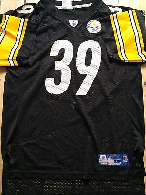 Maillot Trikot Jersey Foot Américain Nfl Us Steelers Willie Parker S