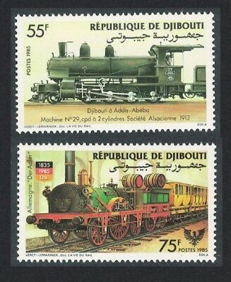 Djibouti Railway Locomotives 2v SG#951-952