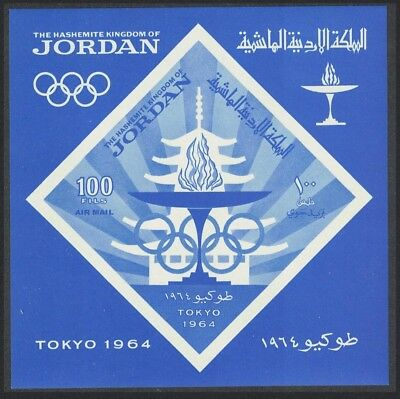 Jordan Olympic Games Tokyo 3rd issue MS SG#MS647