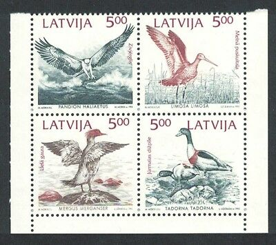 Latvia Birds 4v Joint Issue 'Mare Balticum' SG#359-362