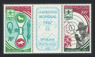 Mali World Scout Jamboree Idaho 2v SG#149-150