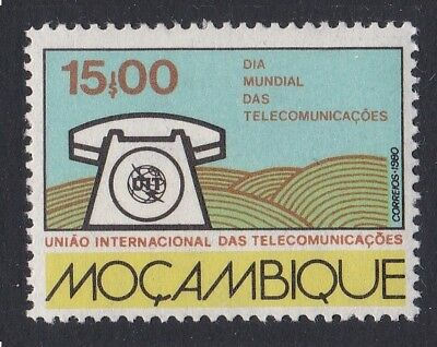 Mozambique World Telecommunications Day 1v SG#817 SC#693
