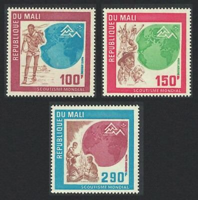 Mali 'Nordjamb 75' World Scout Jamboree Norway 3v SG#498-500