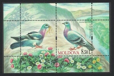 Moldova Dove Birds MS issue 2010 MI#Block 50