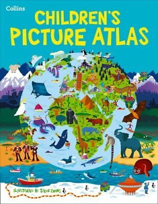 Collins Children's Picture Atlas by Collins Maps 9780008115395 (Hardback, 2015)