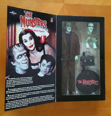 """THE MUNSTERS 12"""" HERMAN Collectors Action Doll in Box by MAJESTIC STUDIOS"""