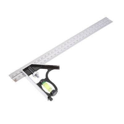 300mm Adjustable Engineers Combination Square Rule Right Angle Ruler Tools