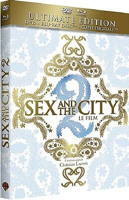 Blu Ray + DVD ULTIM. EDITION //  SEX AND THE CITY 2  LE FILM  // NEUF cellophané