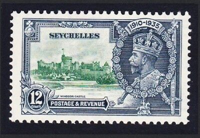 Seychelles George V Silver Jubilee 12c MH SG#129