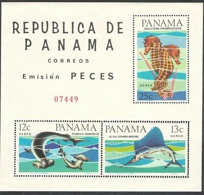 Panama Fishes MS SC#C342a