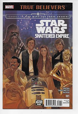 Star Wars Shattered Empire #1 - True Believers Edition (Marvel, 2016) - New (NM)