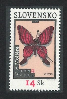 Slovakia Butterfly Moliere Europa CEPT Poster art 1v SG#411