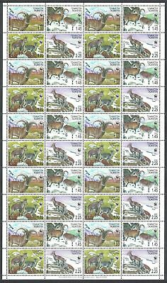 Tajikistan WWF Bharal Full Sheet of 10 sets 40 stamps SG#282-285 SC#266 a-d