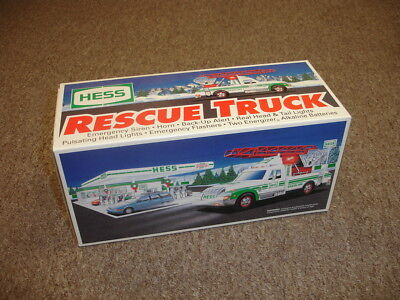 1994 Hess Truck-Rescue Truck-Mint in Original Box