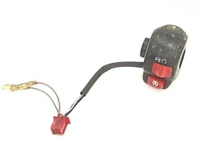 Adly Start Stop Switch Assembly 2003 Silver Fox 50 Scooter Moped 35150-111-00A