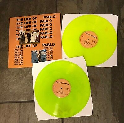 Kanye West - The Life Of Pablo Vinyl 2xLP (Coloured Vinyl) NEW