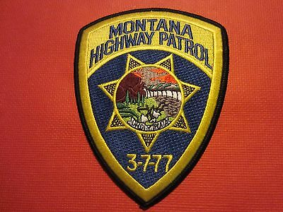 Collectible Montana Highway Patrol Patch, New