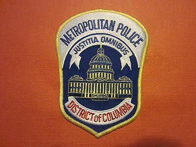 Collectible District of Columbia Police Patch, New