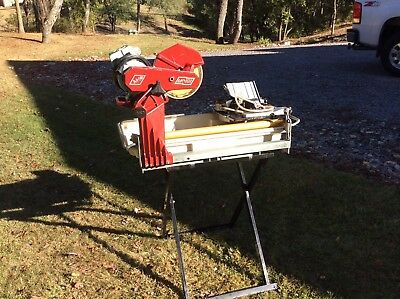 "MK Diamond-101 10"" WET TILE SAW with STAND"
