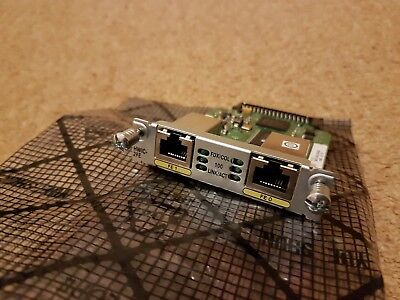 Cisco HWIC-2FE 2-Port Fast Ethernet Card