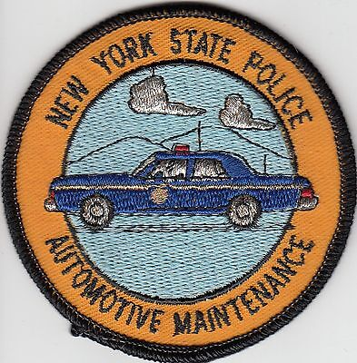 New York State Police Automotive Maintenance Ny Patch