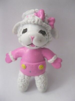 BABY LAMB CHOP stamped Just Toys 1993 Shari Lewis bendy toy about 3 inches tall