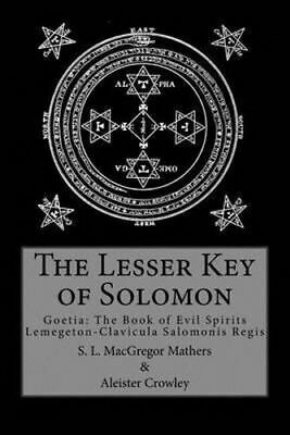 NEW The Lesser Key of Solomon By Aleister Crowley Paperback Free Shipping