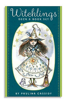 Witchlings Deck & Book Set by Paulina Cassiidy