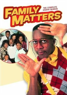 Family Matters: The Complete Eighth Season 8 (DVD, 2016, 3-Disc Set)