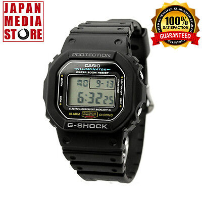 CASIO G-SHOCK DW-5600E-1 Classic Digital Chrono Watch - JAPAN DW5600E