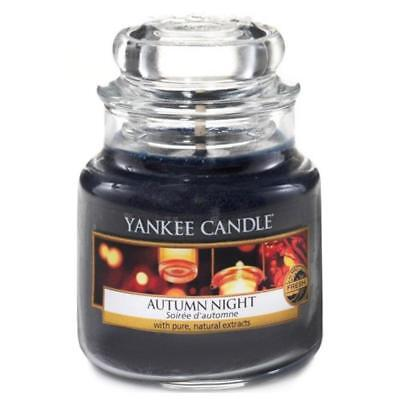 (TG. 6.3x6x7.1 cm) Yankee Candle 1510126E Candele in Giara Piccola Autumn Night,