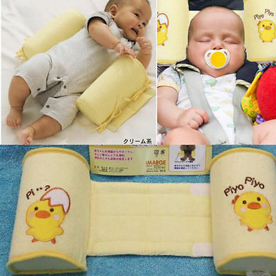 Baby pillow Anti Roll Pillow Sleep Head Positioner Toddler Safe Cotton 1009
